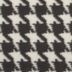 charcoal-ivory houndstooth